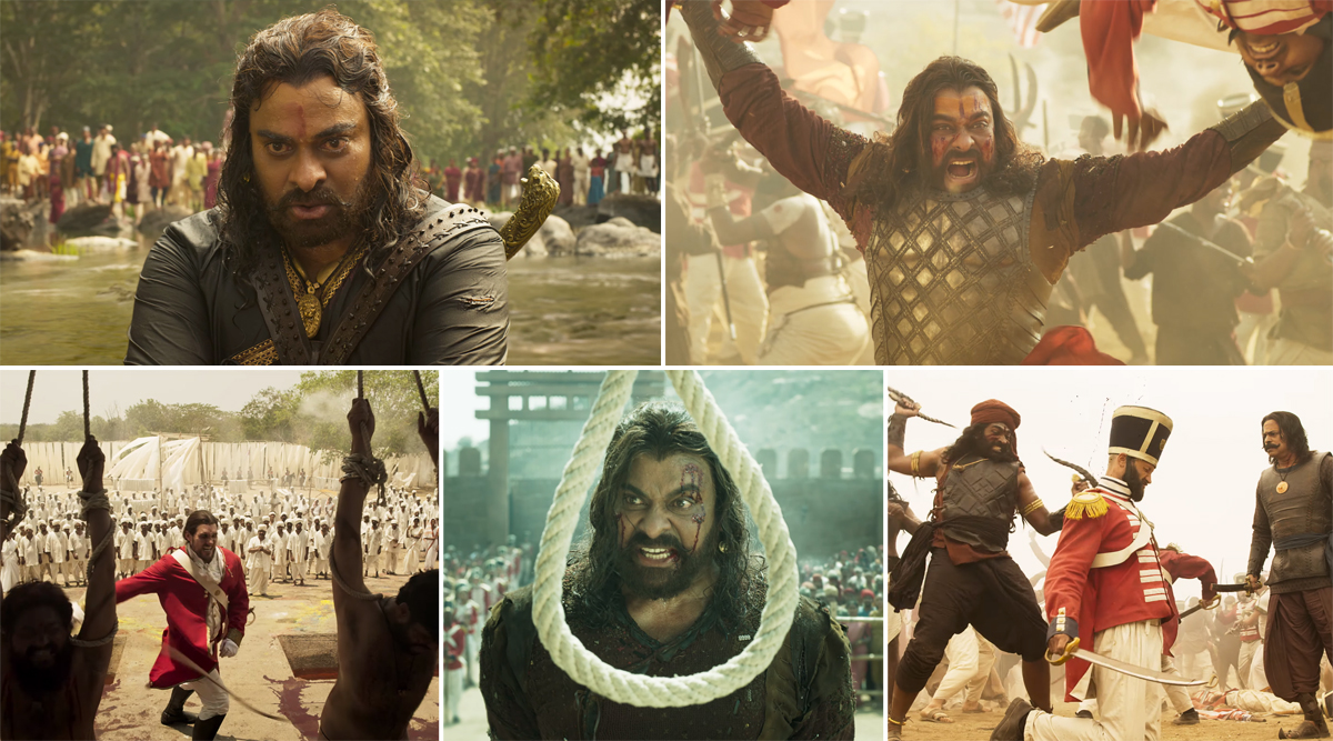 Sye Raa Narasimha Reddy Trailer 2: Megastar Chiranjeevi as the Freedom Fighter and His Battle against the British Is Portrayed Brilliantly (Watch Video)