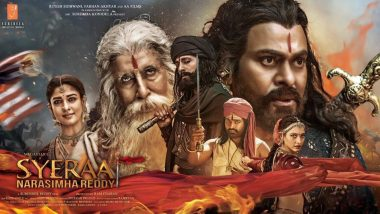 Sye Raa Narasimha Reddy Craze Lands Andhra Policemen in Trouble, Seven Sub-Inspectors Suspended for Watching The Chiranjeevi Film While on Duty