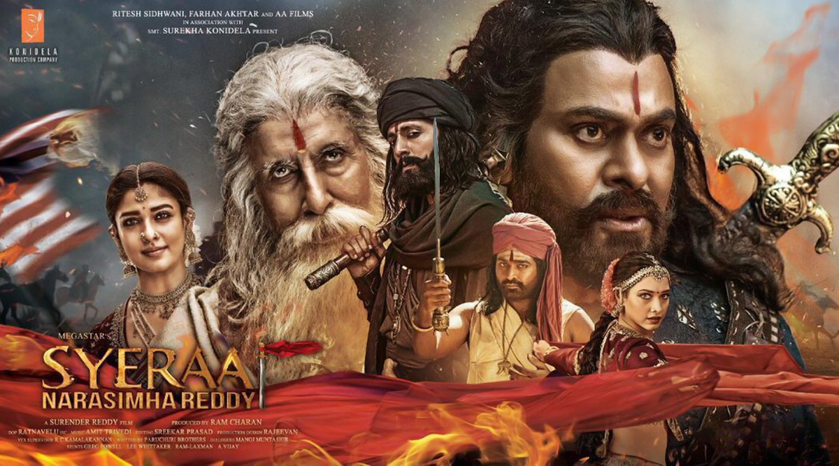 Sye Raa Narasimha Reddy Trailer 2: Chiranjeevi's Visual Spectacle Leaves Fans Impatient For the Epic Tale