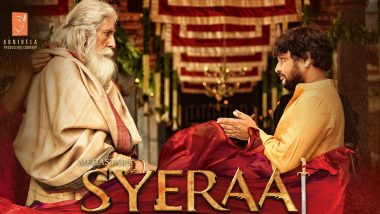 Sye Raa Narasimha Reddy: Fans Hail the Chiranjeevi Starrer Film For Being a Visual Spectacle!