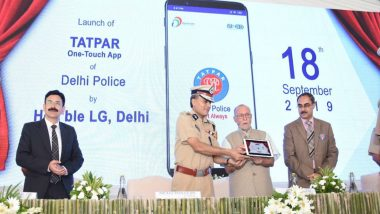 Delhi Police Launch New App 'Tatpar' Containing Links to Numerous Mobile Applications