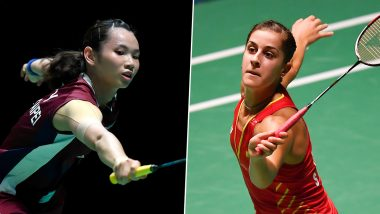 Carolina Marin vs Tai Tzu Ying, BWF China Open 2019 Final Live Streaming Online: How to Watch Free Live Telecast of Badminton Match on TV in India?