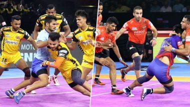 Telugu Titans vs U Mumba PKL 2019 Match Free Live Streaming and Telecast Details: Watch HYD vs MUM, VIVO Pro Kabaddi League Season 7 Clash Online on Hotstar and Star Sports