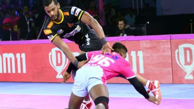 Pro Kabaddi League 7 Match Report: Siddharth Desai Helps Telugu Titans Thrash Jaipur Pink Panthers 51-31
