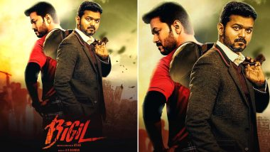 Bigil Quick Movie Review: Thalapathy Vijay and Atlee's Sports Drama Has a Phenomenal First Half!