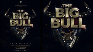 The Big Bull: Abhishek Bachchan Drops The First look Of His Upcoming Film; Ileana D'Cruz to Play The Female Lead
