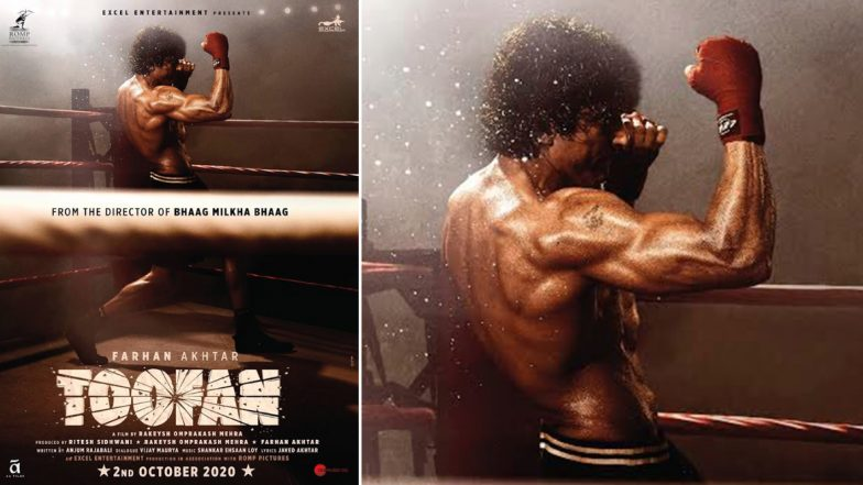 Toofan first look: Farhan Akhtar packs a punch