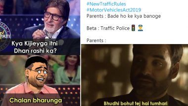 New Traffic Rules Have Got Netizens Making Funny Memes and Jokes on Increased Fines