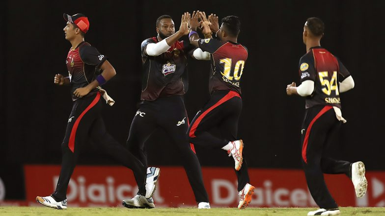 St Kitts and Nevis Patriots vs Trinbago Knight Riders, CPL 2019 Match LIVE Cricket Streaming on Star Sports and Hotstar: Live Score, Watch Free Telecast on TV & Online