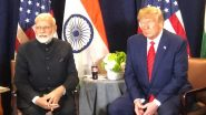 PM Narendra Modi Discusses COVID-19 With Donald Trump, Stresses on India-US Partnership to Fight Pandemic