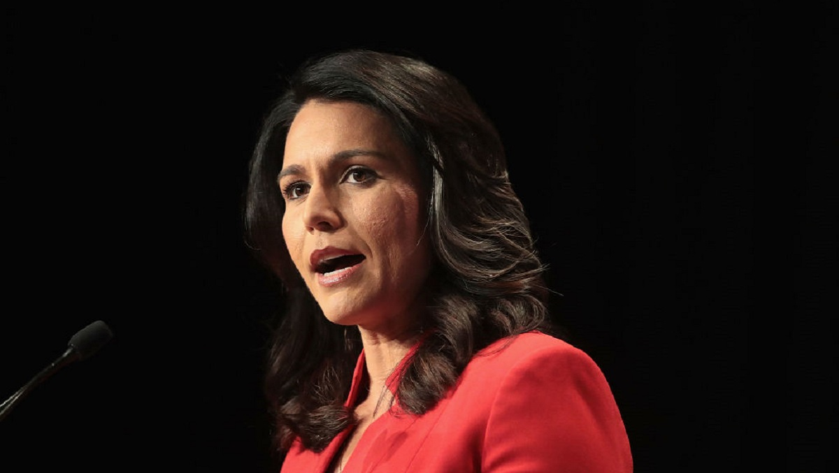 Tulsi Gabbard Raps Donald Trump Over Response to Aramco Drone Attack, Says 'Making US Saudi's B**ch Not America First'