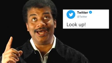Twitter Instructs People to 'Look Up' and the Replies and Funny Memes Are Making Everyone Laugh