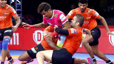 PKL 7 Match Report: U Mumba Thrash Jaipur Pink Panthers 47–21