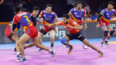 UP Yoddha vs Dabang Delhi PKL 2019 Match Free Live Streaming and Telecast Details: Watch UP vs DD, VIVO Pro Kabaddi League Season 7 Clash Online on Hotstar and Star Sports