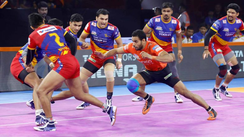 PKL 2019 Dream11 Prediction for UP Yoddha vs Tamil Thalaivas: Tips on Best Picks for Raiders, Defenders and All-Rounders for UP vs TAM Clash