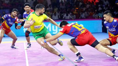 Haryana Steelers vs UP Yoddha PKL 2019 Match Free Live Streaming and Telecast Details: Watch HAR vs UP, VIVO Pro Kabaddi League Season 7 Clash Online on Hotstar and Star Sports