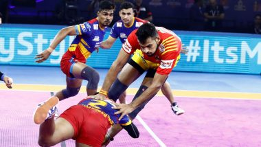 PKL 2019 Match Result: All-Round UP Yoddha Beat Gujarat Fortune Giants 33-26