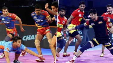 UP Yoddha vs Gujarat Fortunegiants PKL 2019 Match Free Live Streaming and Telecast Details: Watch UP vs GUJ, VIVO Pro Kabaddi League Season 7 Clash Online on Hotstar and Star Sports