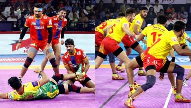 PKL 2019 Dream11 Prediction for UP Yoddha vs Gujarat Fortunegiants: Tips on Best Picks For Raiders, Defenders and All-Rounders For UP vs GUJ Clash