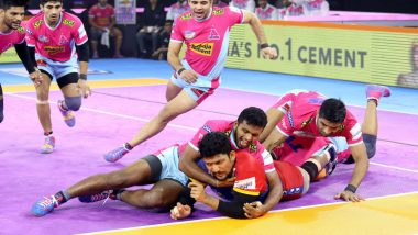 PKL 7 Match Report: UP Yoddha Defeat Pink Panthers 32-38