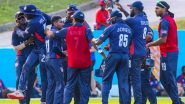 Live Cricket Streaming of Nepal vs USA ODI 2021 Online: Watch Free Live Telecast of ICC Cricket World Cup League 2 Series Match