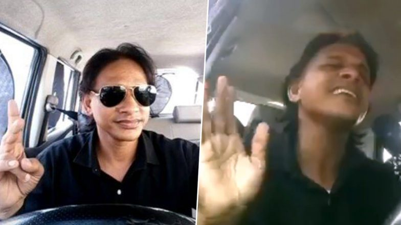 Uber India Calls Lucknow Based Driver-Singer Vinod Sharma 'UberStar' as he Receives Positive Response After His Video Goes Viral