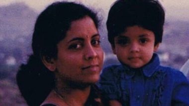 Nirmala Sitharaman Shares Throwback Picture With Her Daughter Vangmayi Parakala on Daughter's Day 2019