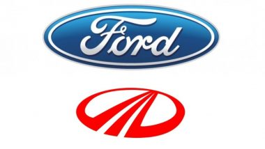 Ford Motor Company and Mahindra & Mahindra Close to Signing Joint Venture Deal in India, Says Report