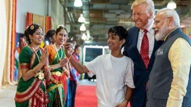 Meet Satvik Hegde, the Karnataka Boy Who Became an Internet Sensation After His Selfie With PM Narendra Modi And Donald Trump at Howdy, Modi! Event