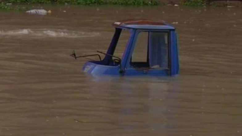 Gujarat Rains: Several Parts of Bharuch District Face Flood-Like Situation As Narmada River Flows Much Higher Danger Mark