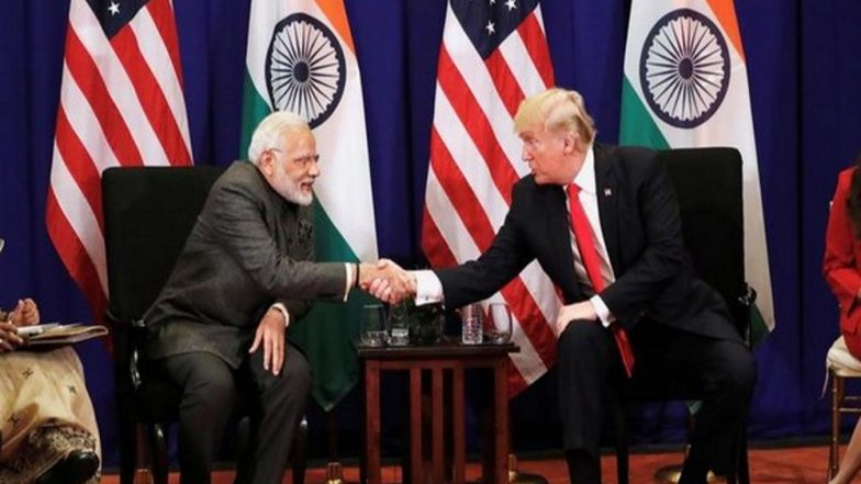 Howdy, Modi Event: PM Narendra Modi Tweets Saying US President Donald Trump's 'Special Gesture' of Offering to Join Him in Houston Highlights Strong India-US Ties