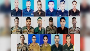 Uri Terror Attack: Twitterati Pay Tribute to 19 Martyrs Who Lost Their Lives in The Dastardly Attack Three Years Ago, Read Tweets