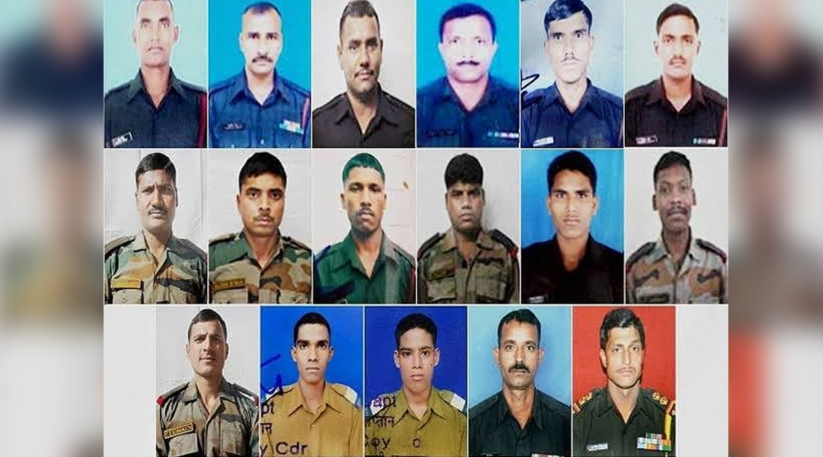 Uri Terror Attack: Twitterati Pay Tribute to Martyrs Who Lost Their Lives in The Dastardly Attack Three Years Ago, Read Tweets