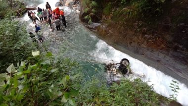 Uttarakhand: 3 Dead After Vehicle They Were Travelling in Falls Into River in Chamoli District