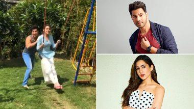 Coolie No 1 Actors Varun Dhawan and Sara Ali Khan's 'Fun in the Sun' Is Ah-Mazing (Watch Video)