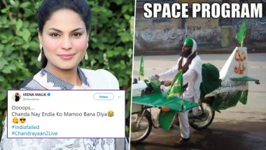 Netizens Brutally Troll Veena Malik with Hilarious Memes and Funny Videos in Response to Her Chandrayaan2 Tweet