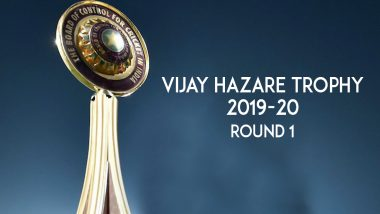 Vijay Hazare Trophy 2019-20 Round 1 Results: Tamil Nadu, Gujarat Win; Seven Matches Washed Out