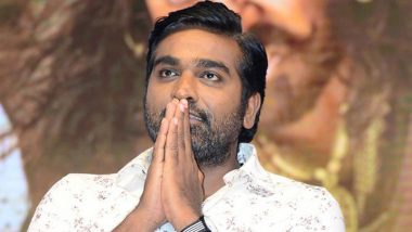 Vijay Sethupathi Donates Rs 25 Lakhs To Tamil Nadu Chief Minister's Relief fund
