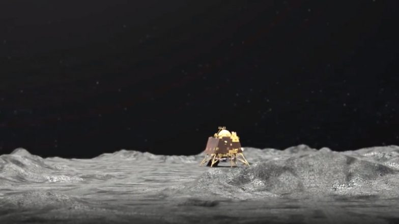 Chandrayaan 2: ISRO Has Just 1 Day to Re-Establish Contact With Vikram Lander As It Is Soon Going to Be Night on the Moon