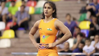 Vinesh Phogat Becomes 1st Indian Wrestler to Secure Quota in 2020 Tokyo Olympics After Defeating Sarah Hildebrandt in World Wrestling Championships
