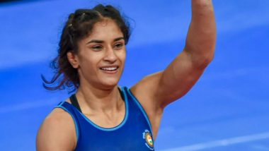 Vinesh Phogat Wins Bronze Medal in 53kg Event at World Wrestling Championships 2019 After Qualifying for Tokyo Olympics 2020
