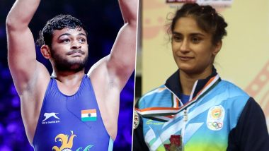 Deepak Punia Claims No.1 Spot in the Latest Wrestling Rankings, Vinesh Phogat Jumps to Second Position