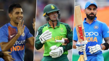 India vs South Africa, 3rd T20I 2019, Key Players: Virat Kohli, Deepak Chahar, Quinton de Kock and Other Cricketers to Watch Out for in Bengaluru