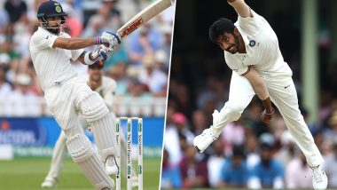 Virat Kohli & Jasprit Bumrah Silenced The Crowd With Their Celebration During Day 4 of 2nd Test Against WI (Watch Video)