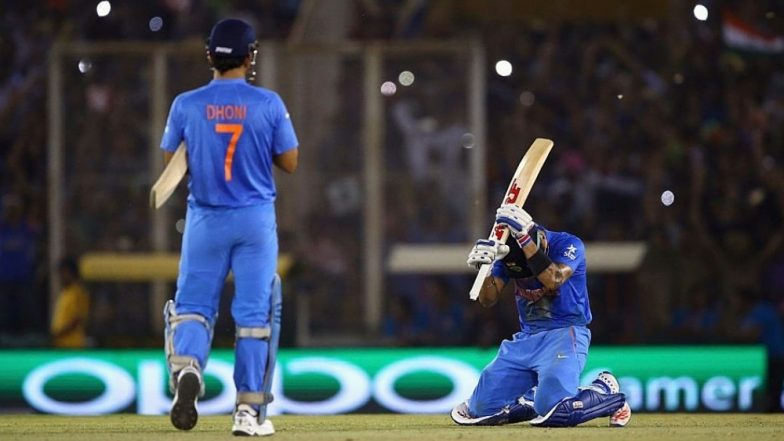When MS Dhoni Made Virat Kohli 'Run Like in a Fitness Test'! Indian Captain Recalls IND vs AUS T20 World Cup 2016 Match With a Throwback Picture