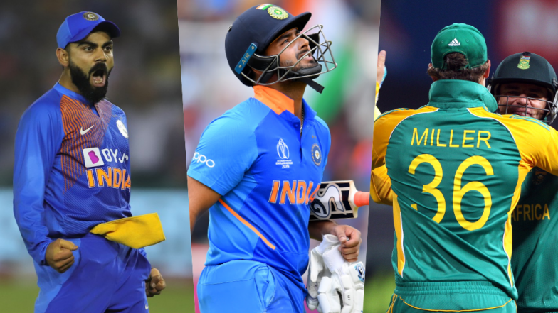 Virat Kohli Steers India Home with Another Majestic Innings Against South Africa: Fans Hail 'King Kohli' But Troll Rishabh Pant After Another Disappointment (See Memes & Tweets)