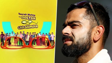 Virat Kohli Gets Trolled in Taarak Mehta Ka Ooltah Chashmah's Latest Episode, Characters Take Dig at Indian Skipper Over Team India's Loss in World Cup 2019