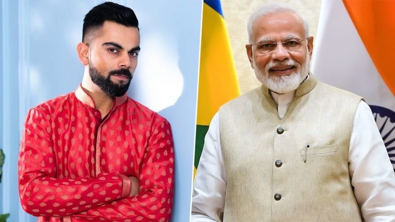 Virat Kohli Tweets to PM Narendra Modi on His Birthday, Wishes Him 'Good Health and Success'