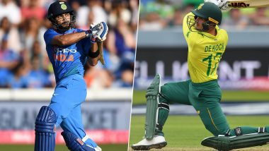 Live Cricket Streaming of India vs South Africa 2nd T20I 2019 Match on DD Sports and Hotstar: Check Live Cricket Score, Watch Free Telecast of IND vs SA on TV and Online