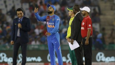 India vs South Africa, 3rd T20I Toss Report & Playing XI Update: Virat Kohli Wins the Toss, Elects to Bat First (Watch Video)
